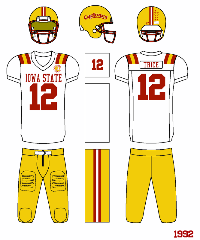 1992 - Cyclone Uniforms